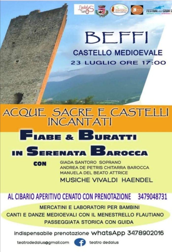 """""""Acque Sacre e Castelli incantati – Passeggiate creative"""": venerdì 23.07.2021 al Castello di Beffi"""